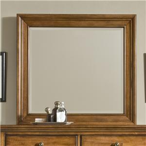 Cresent Fine Furniture Cresent Classics - Casual Living Small Mirror
