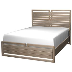 Cresent Fine Furniture Hampton Full Panel Headboard & Footboard Bed