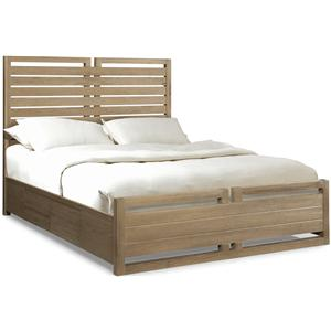 Cresent Fine Furniture Hampton California King Storage Bed