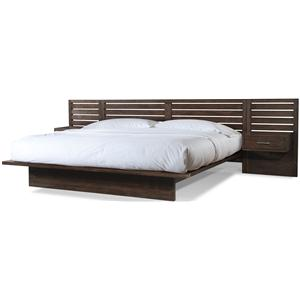 Cresent Fine Furniture Hudson Queen Platform Bed