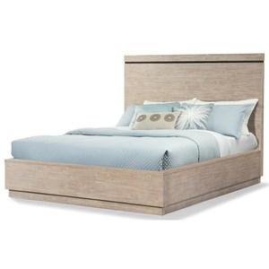 King Platform Bed with Minimalist Design