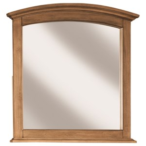 Dresser Mirror with Arch Top