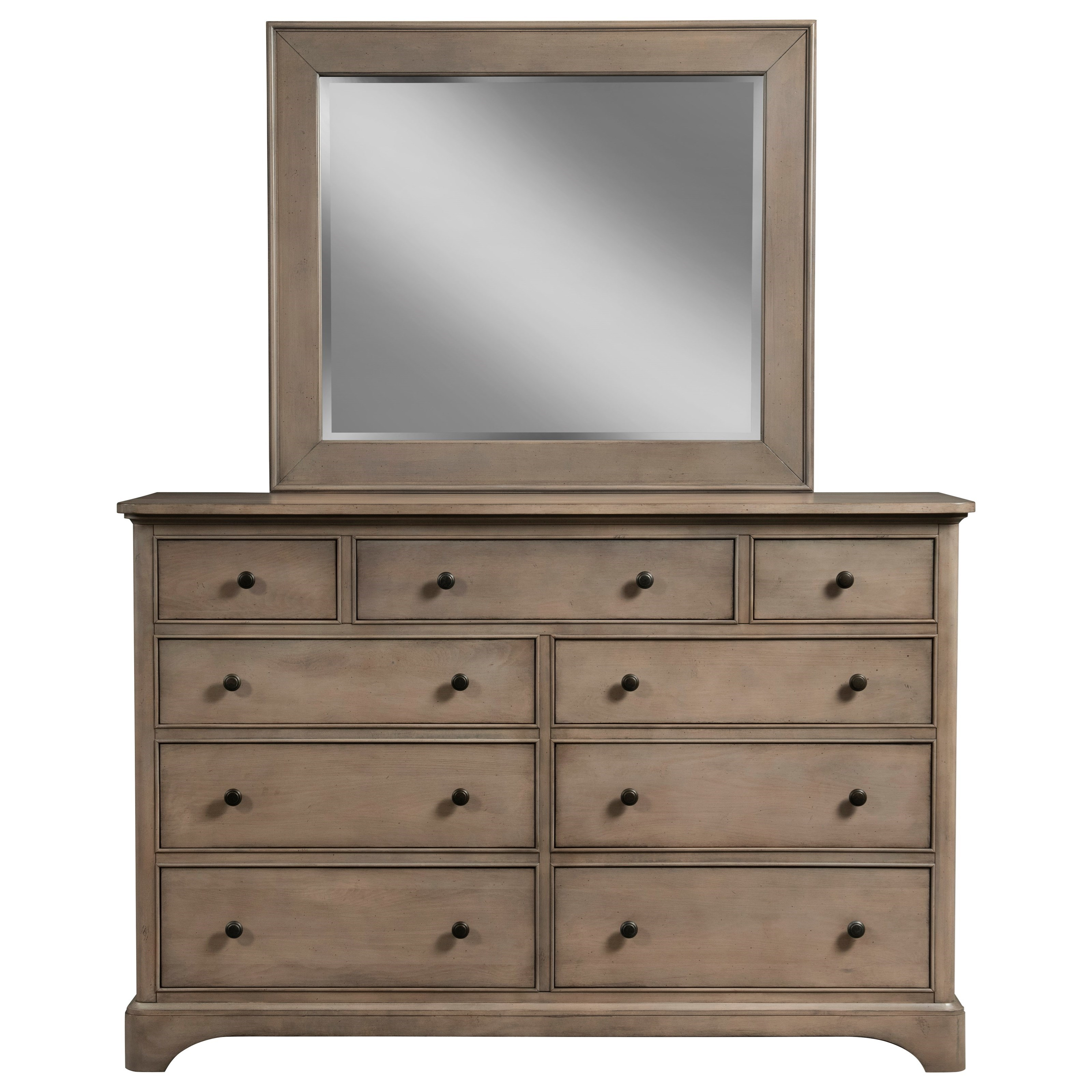 Melrose Dresser and Mirror Combo at Williams & Kay