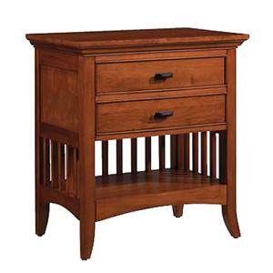 Cresent Fine Furniture Cresent Classics - Modern Shaker Night Stand