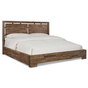 Cresent Fine Furniture Waverly King Low Profile Bed w/ Storage
