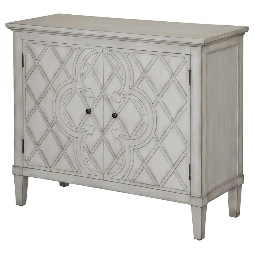Accent Furniture Berkshire Scalloped Top Accent Table by Crestview Collection at Rife's Home Furniture