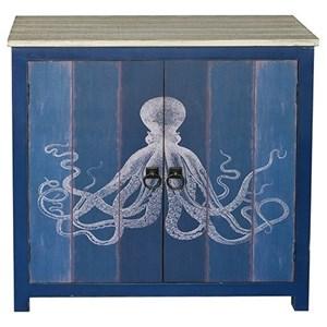 Ocotopus 2 Door Deep Blue Cabinet