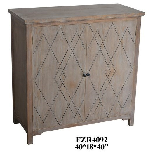 Accent Furniture 2 Door Wood Cabinet by Crestview Collection at Rife's Home Furniture