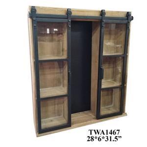 Decorative Wooden Wall Shelf