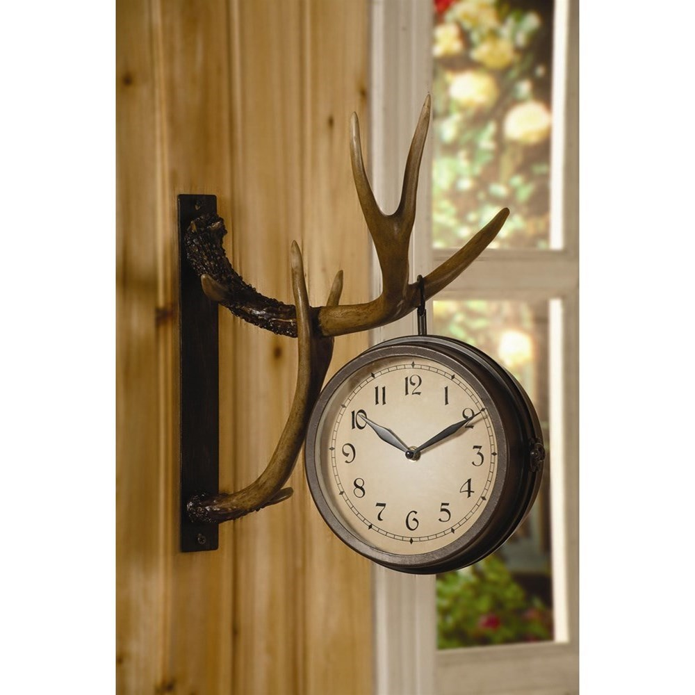 Clocks Deer Park Clock by Crestview Collection at Rife's Home Furniture