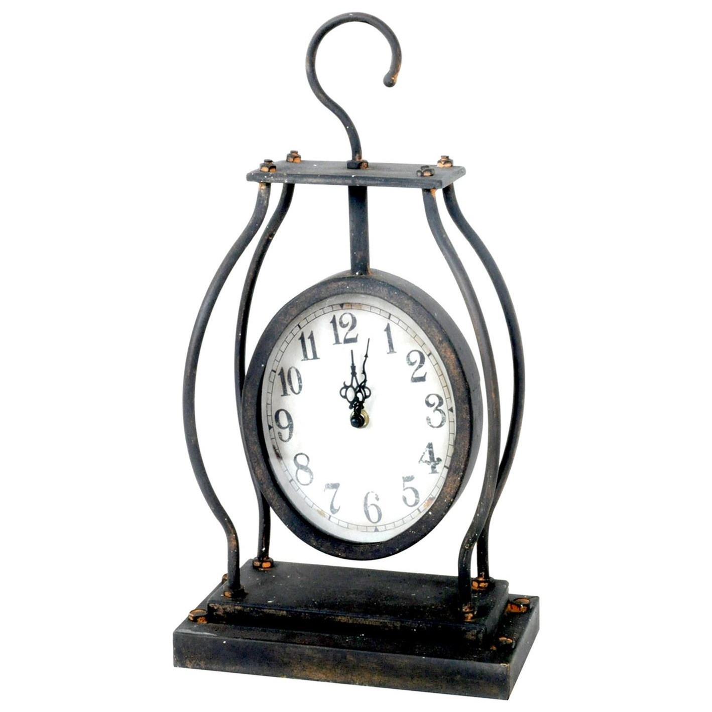 Clocks Hook Clock by Crestview Collection at Suburban Furniture
