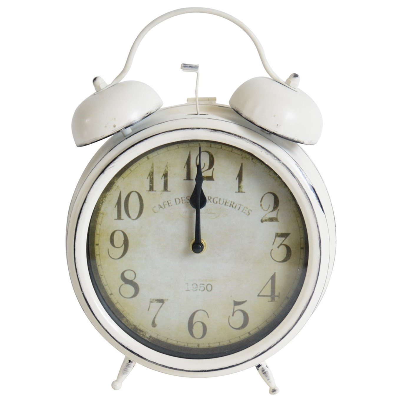 Clocks Table Top Alarm Clock by Crestview Collection at Rife's Home Furniture