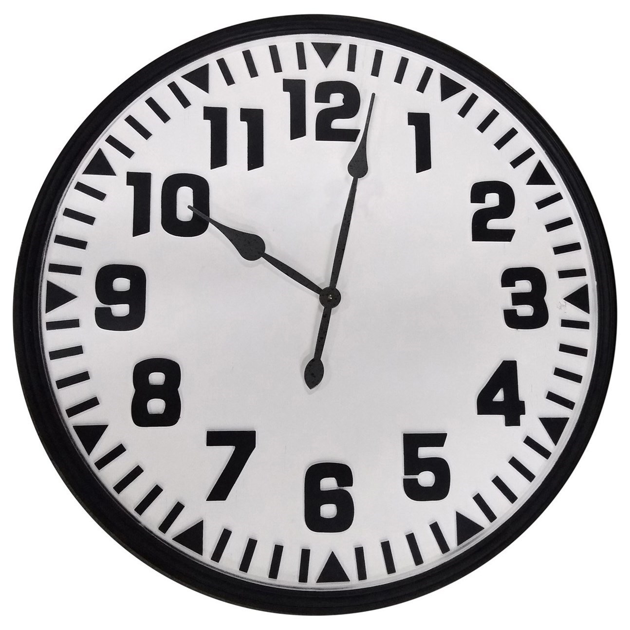 Clocks Decorative Wall Clock by Crestview Collection at Rife's Home Furniture