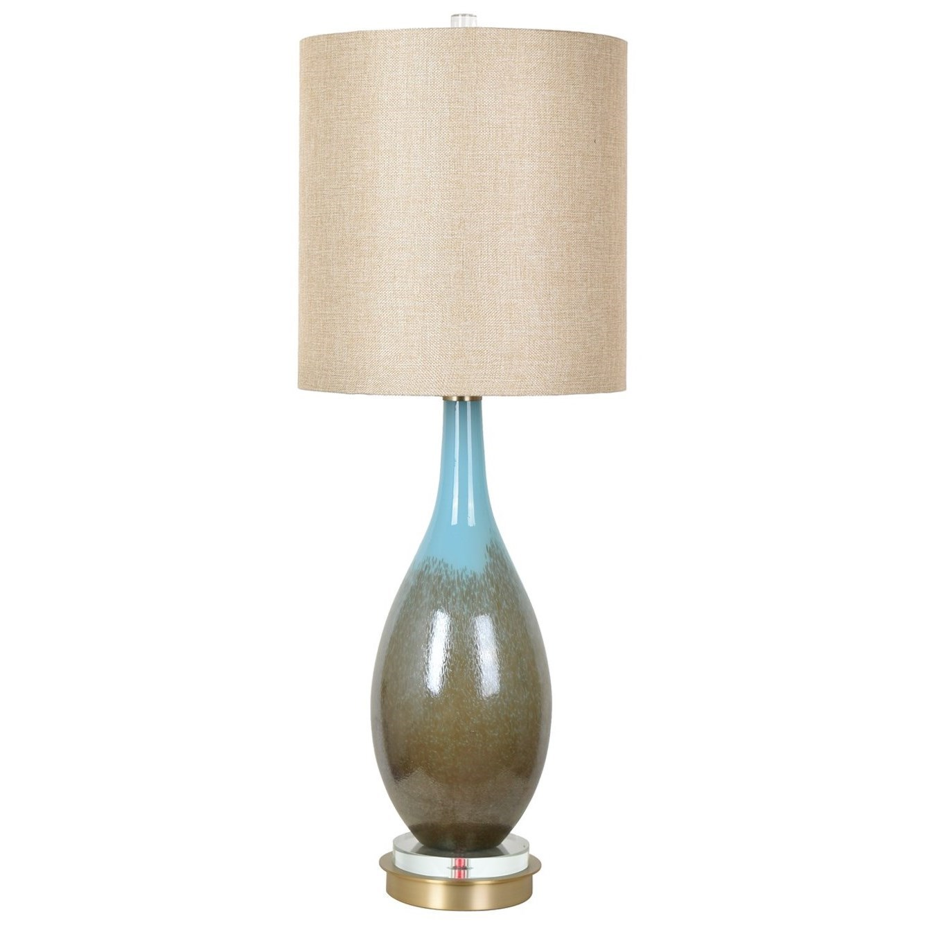 Lighting Mia Table Lamp by Crestview Collection at Rife's Home Furniture