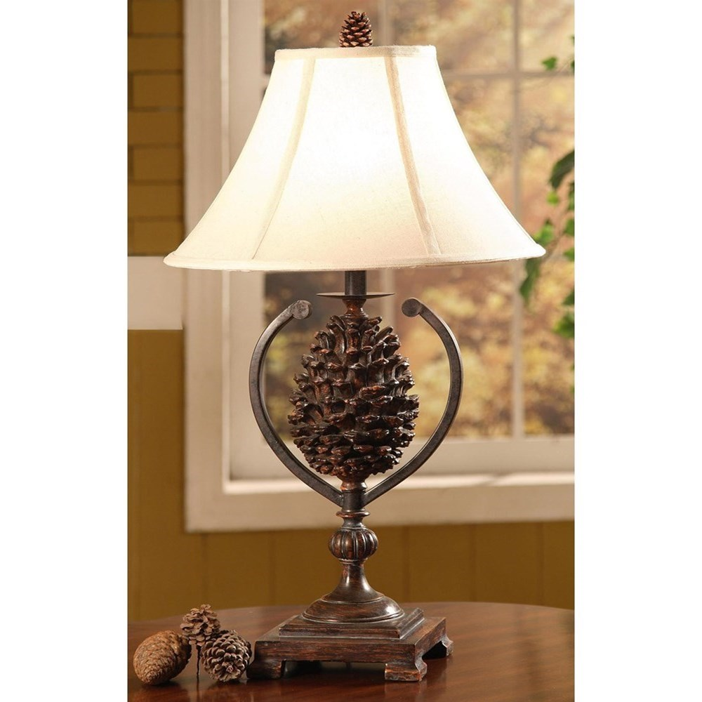 Lighting Pine Creek Accent Lamp at Walker's Furniture