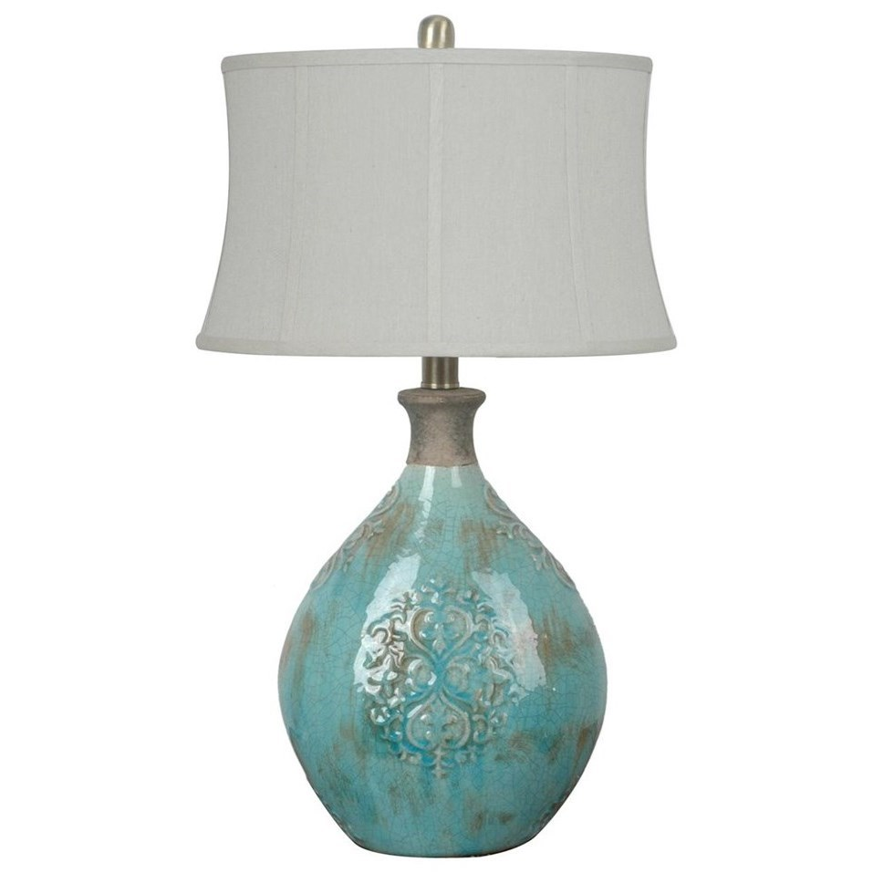 Lighting Linnet Table Lamp by Crestview Collection at Rife's Home Furniture