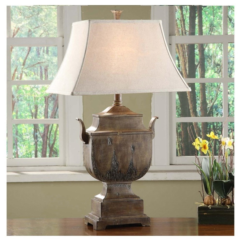 Lighting Seville Urn Table Lamp by Crestview Collection at Rife's Home Furniture