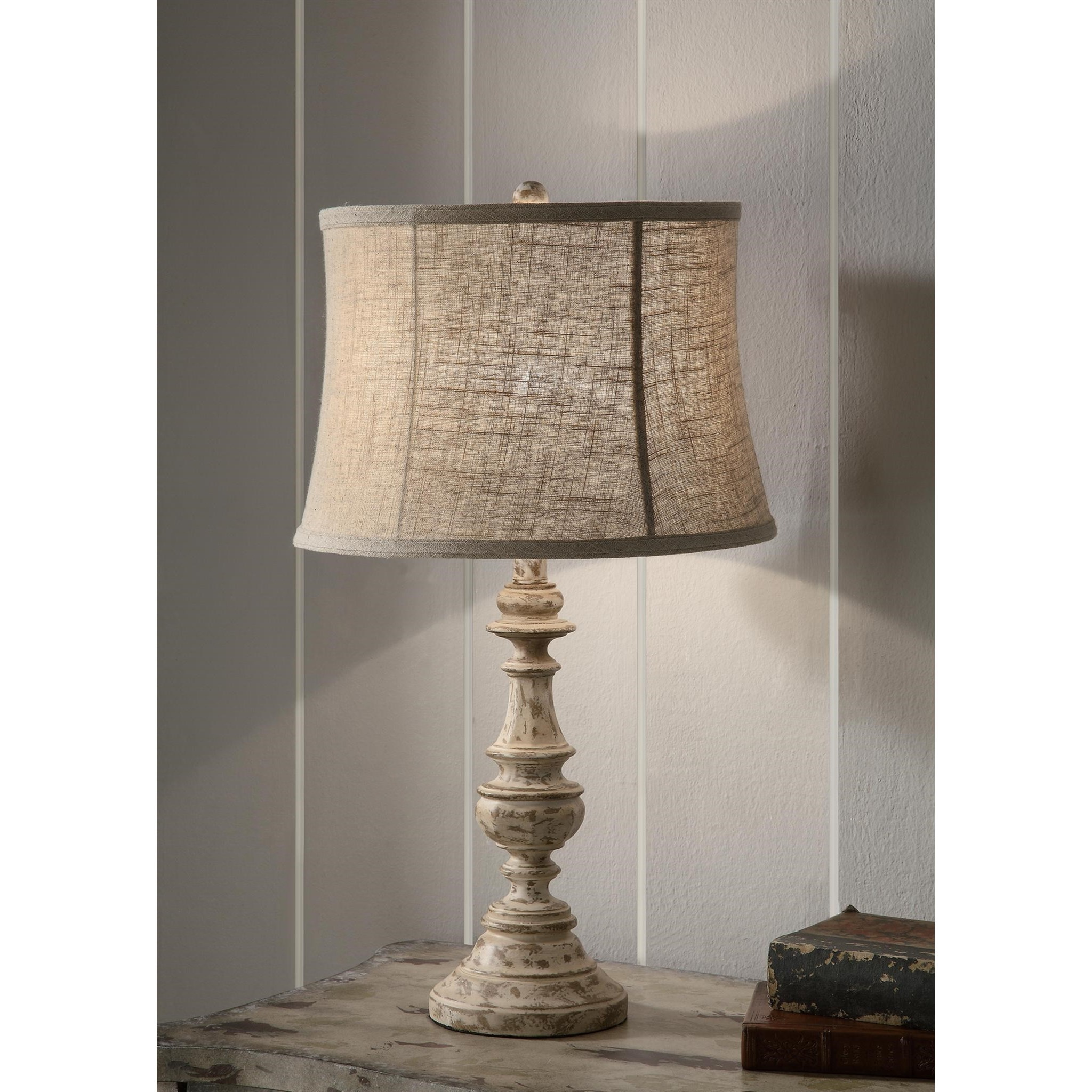 """Lighting Cunningham Table Lamp 24.5""""Ht. by Crestview Collection at Rife's Home Furniture"""