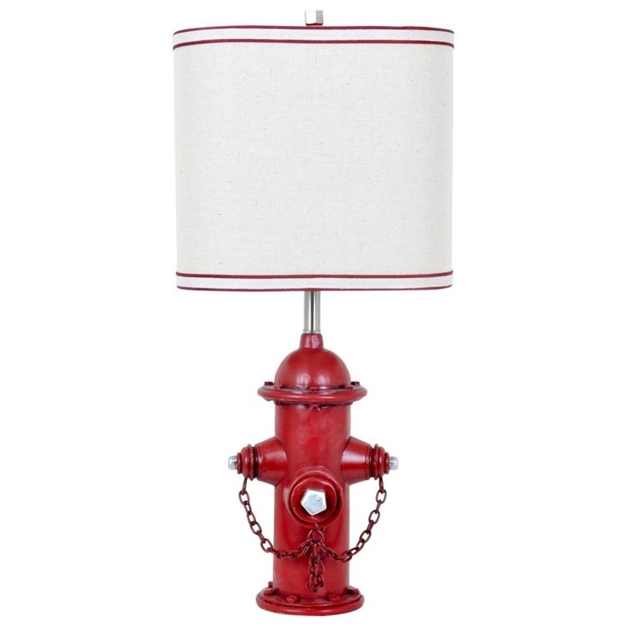 Lighting Hydrant Table Lamp by Crestview Collection at Rife's Home Furniture