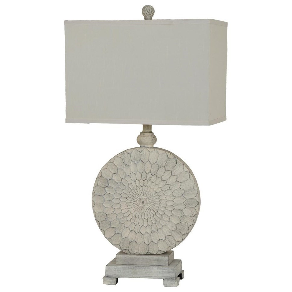Lighting Sun Dance Table Lamp by Crestview Collection at Rife's Home Furniture