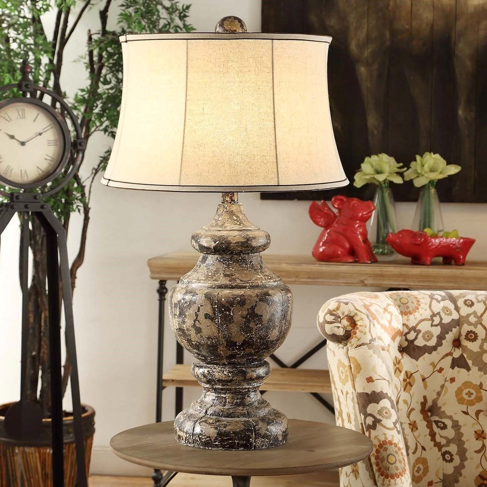 Lighting Antique Corbel Table Lamp by Crestview Collection at Rife's Home Furniture