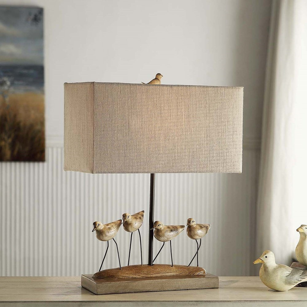 Lighting Shore Birds Table Lamp by Crestview Collection at Rife's Home Furniture