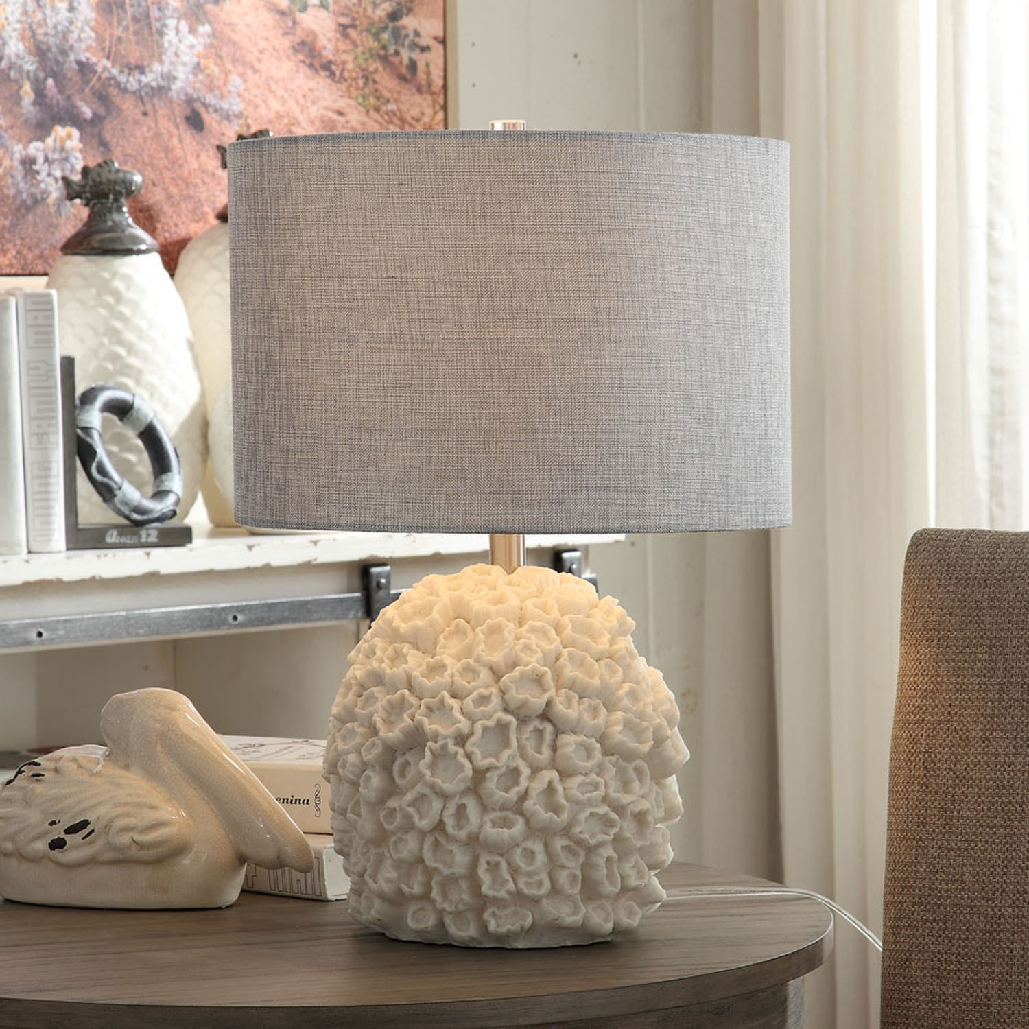 Lighting Sea Life Table Lamp by Crestview Collection at Rife's Home Furniture