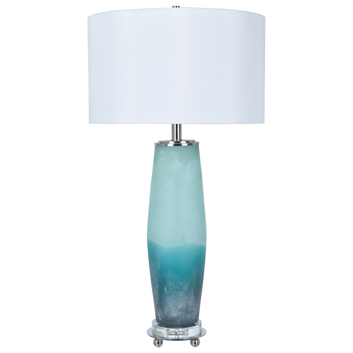 Lighting Seaside Table Lamp by Crestview Collection at Suburban Furniture