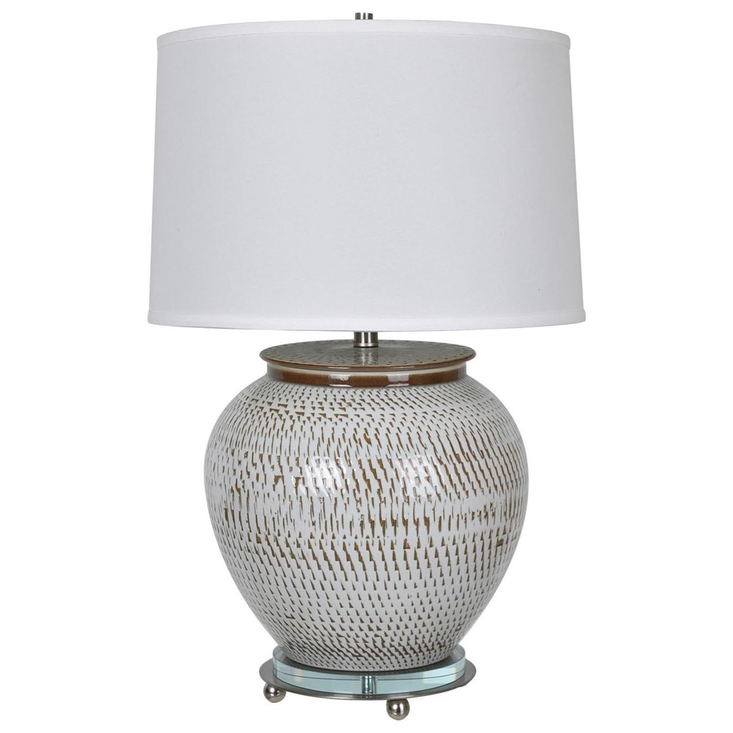 Lighting Lise Table Lamp by Crestview Collection at Suburban Furniture