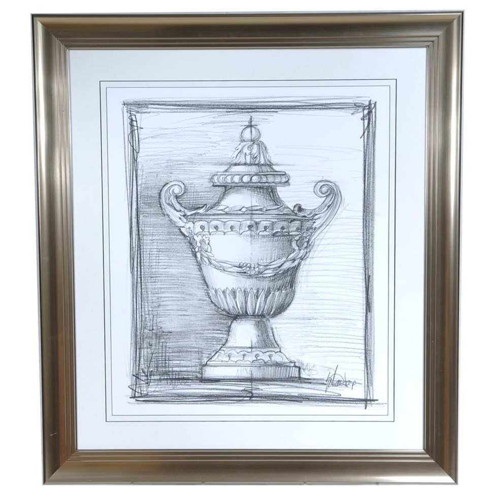 Prints and Paintings Decorative Ornament 4 by Crestview Collection at Rife's Home Furniture