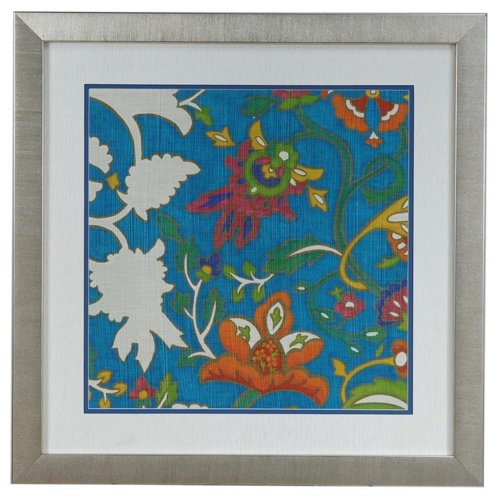 Prints and Paintings Jewelled Pashmina 2 by Crestview Collection at Rife's Home Furniture
