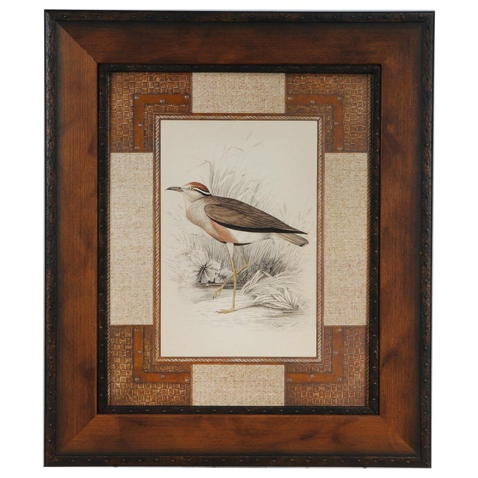 Prints and Paintings Lowland Courier by Crestview Collection at Rife's Home Furniture