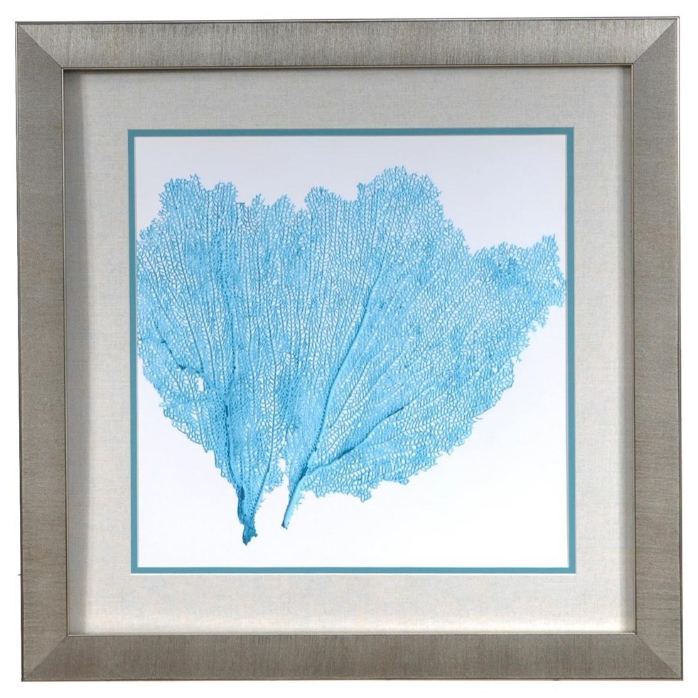 Prints and Paintings Sea Fan 4 by Crestview Collection at Rife's Home Furniture