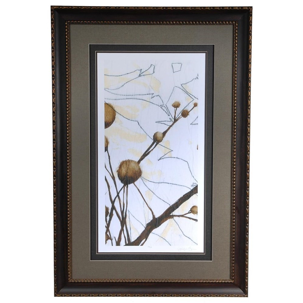 Prints and Paintings Willow Blossom 1 by Crestview Collection at Rife's Home Furniture