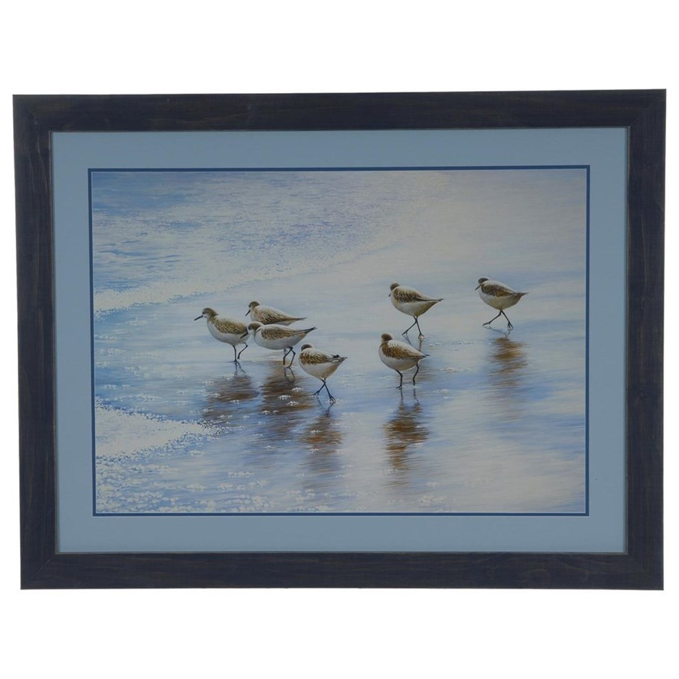 Prints and Paintings Sand Dancers by Crestview Collection at Rife's Home Furniture