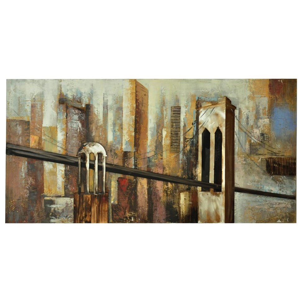Prints and Paintings City Links by Crestview Collection at Rife's Home Furniture