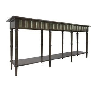 Hawthorne Estate Scalloped Leg Console Table