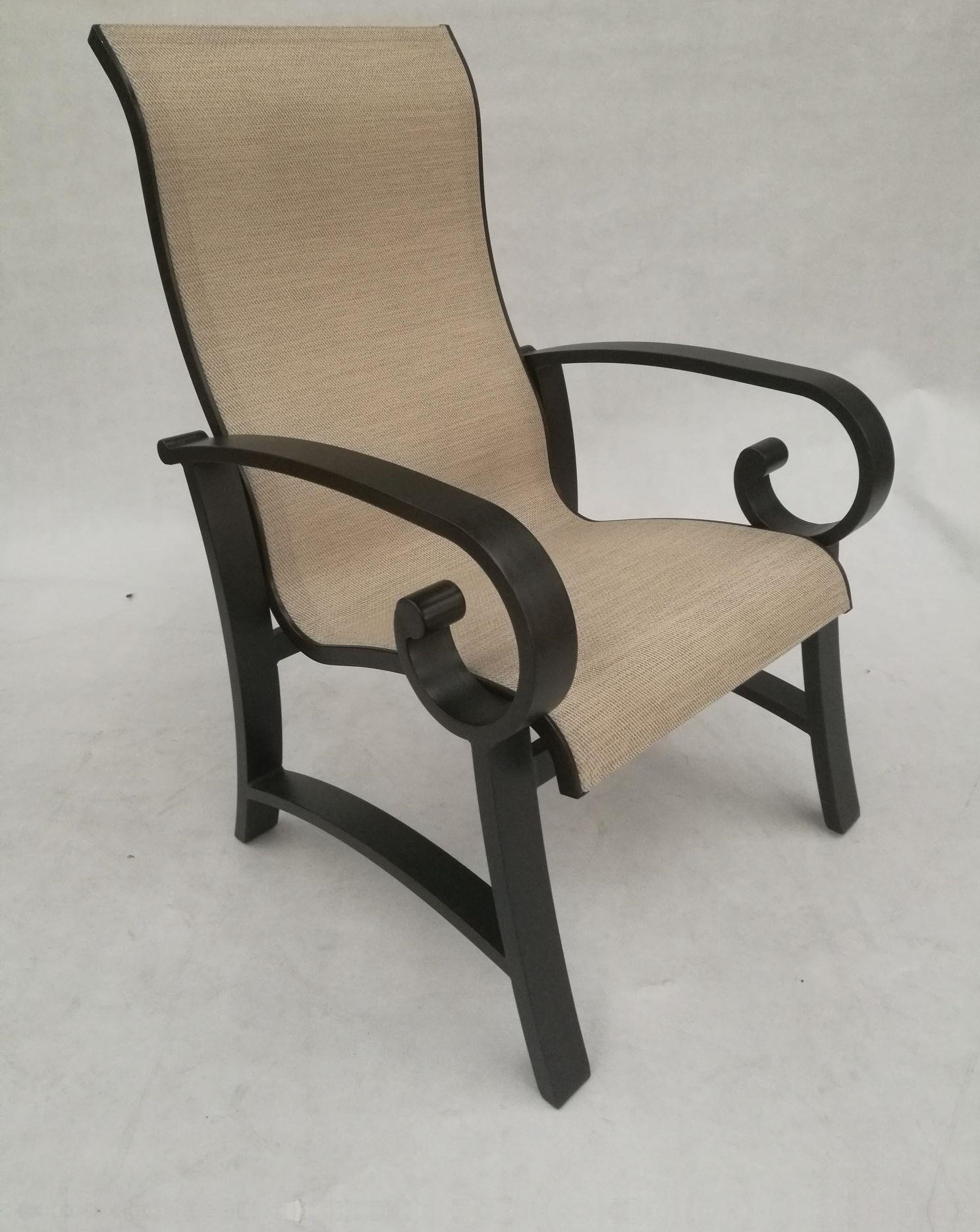 Crown Garden Sling Dining Chair by Crown Garden Furniture at Johnny Janosik
