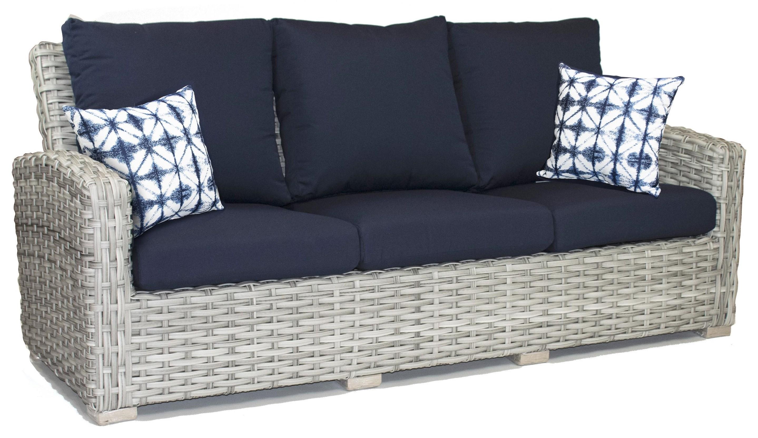 Crown Garden Sofa by Crown Garden Furniture at Johnny Janosik