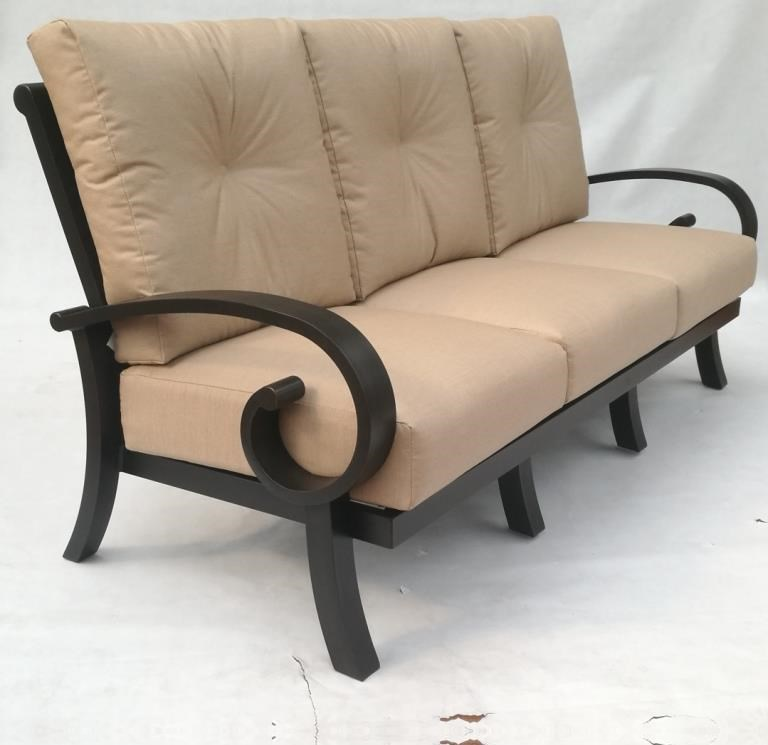 Emerald Sofa by Crown Garden Furniture at Johnny Janosik