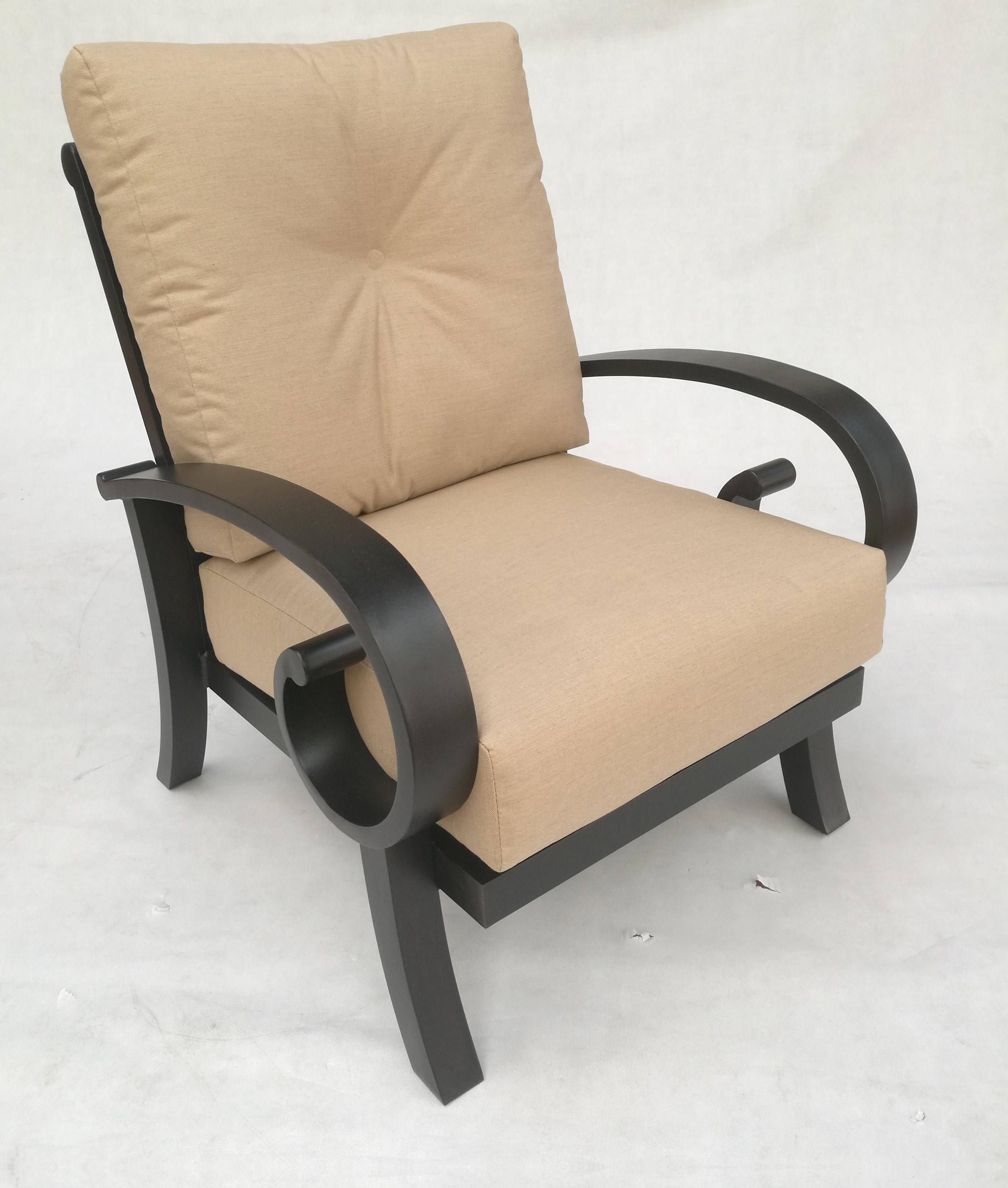Emerald Club Chair by Crown Garden Furniture at Johnny Janosik