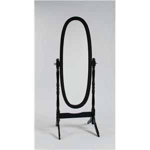 Oval Shaped Cheval Dressing Mirror
