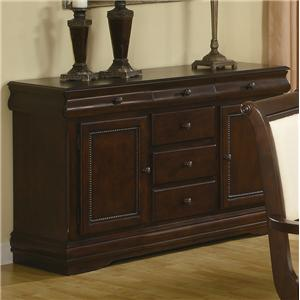Buffet with Six Drawers