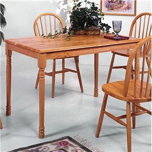 Crown Mark Farmhouse Rectangular Dining Table