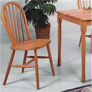 Dining Slat Back Side Chair