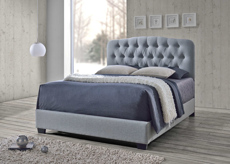 Tilda 5274 Tilda Upholstered Bed by CM at Del Sol Furniture