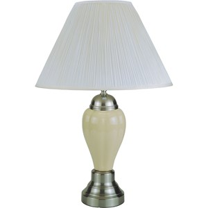 Transitional Ivory Table Lamp
