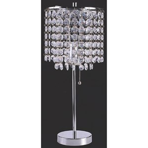 Glam Chandelier Table Lamp