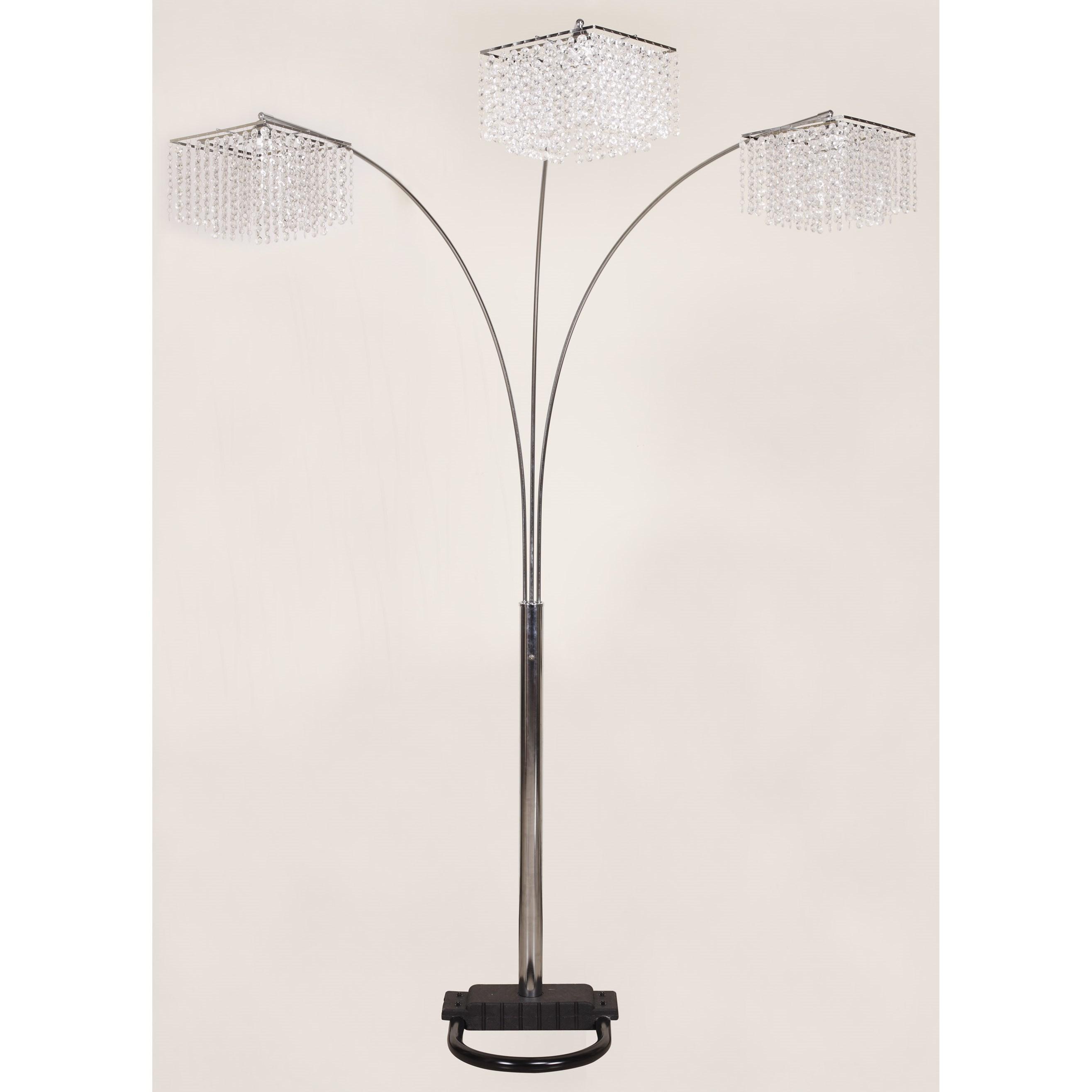 6213 Floor Lamp by Crown Mark at Bullard Furniture