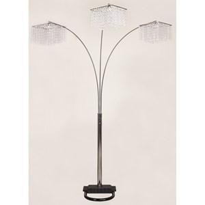 Glam Three Light Floor Lamp